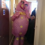 Mr Blobby strikes again!